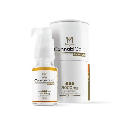 CannabiGold Intense 12ml – 3000mg CBD, max. 0,2% THC