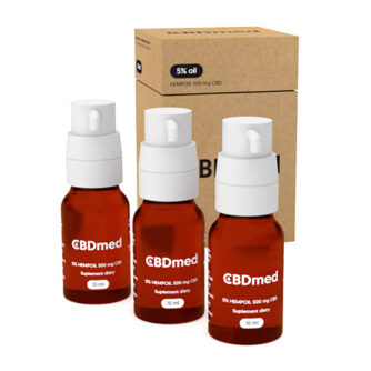 CBDmed 10ml 500mg Packshot 3
