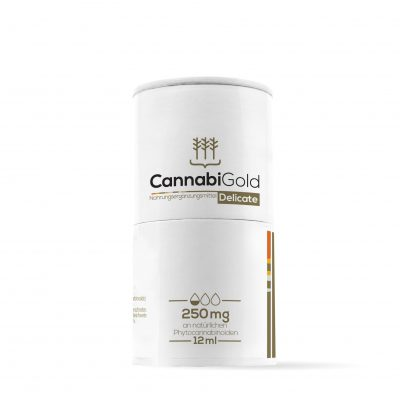 CannabiGold Delicate 12ml – 250mg CBD, max. 0,2% THC